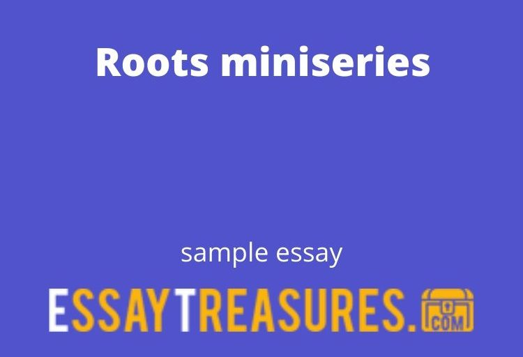 Roots miniseries essay
