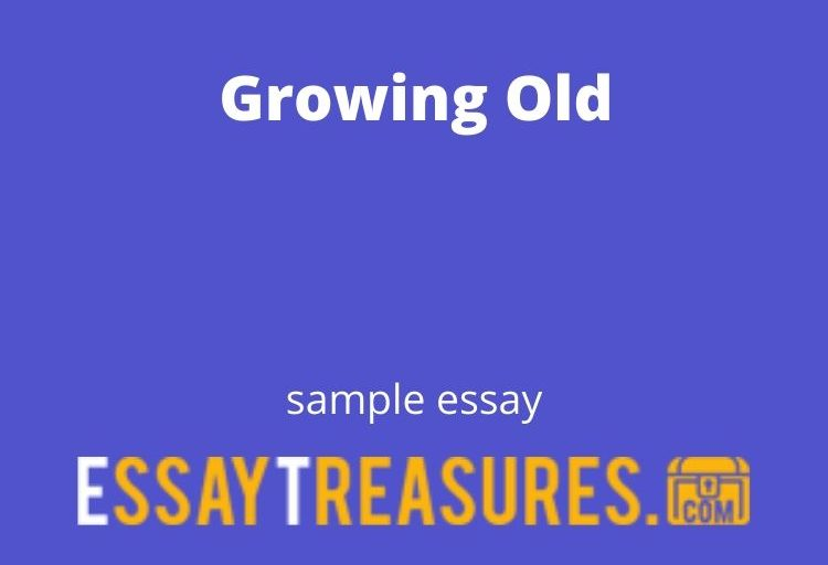 Growing Old essay