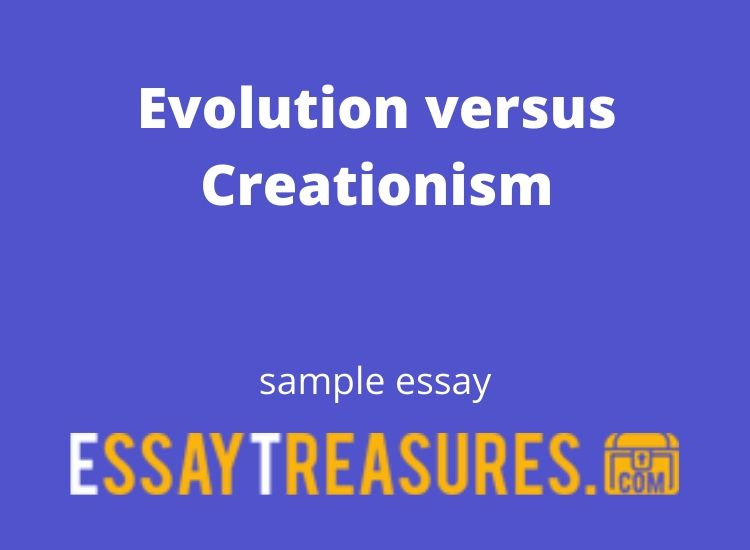 Free Creationism Essays and Papers | Help Me